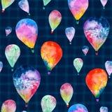Watercolor balloon Stock Photo