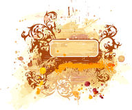 Watercolor banner Royalty Free Stock Images