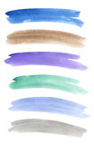 Watercolor banners Royalty Free Stock Image