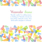 Watercolor banners Royalty Free Stock Photography
