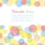 Watercolor banners Stock Photography