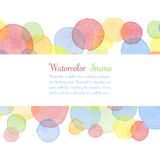 Watercolor banners Royalty Free Stock Photos