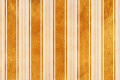 Watercolor beige and acryl golden striped background Stock Image