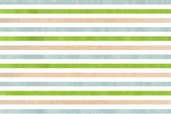 Watercolor beige, green and blue striped background. Abstract watercolor background with beige, green and blue stripes royalty free illustration