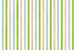 Watercolor beige, green and blue striped background. Abstract watercolor background with beige, green and blue stripes Stock Photography