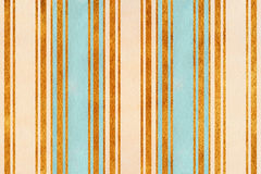 Watercolor beige, light blue and golden striped background Royalty Free Stock Image