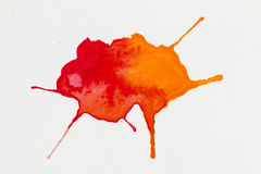 Watercolor blob. Stock Photography