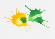 Watercolor blob. Royalty Free Stock Photos