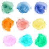 Watercolor Blobs Royalty Free Stock Image