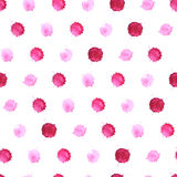 Watercolor blobs seamless pattern 4 Royalty Free Stock Photos