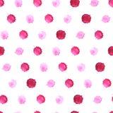Watercolor blobs seamless pattern 4 Royalty Free Stock Photos