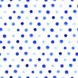 Watercolor blobs seamless pattern 2 Stock Photography