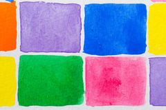 Watercolor Blocks Stock Photos