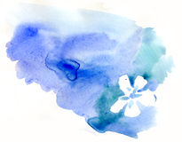 Watercolor blot Stock Photos