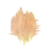 Watercolor blot Royalty Free Stock Photos