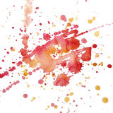 Watercolor blot raster Royalty Free Stock Photo