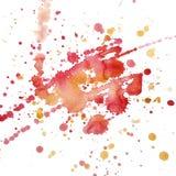 Watercolor blot raster Royalty Free Stock Photo