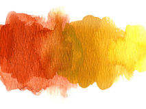 Watercolor blotch Royalty Free Stock Image