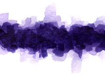 Watercolor blotch Stock Images