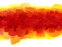 Watercolor blotch Stock Images