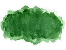 Watercolor blotch Stock Photo