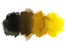 Watercolor blotch Royalty Free Stock Photo