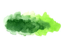 Watercolor blotches Stock Photos