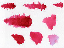 Watercolor blotches Royalty Free Stock Image