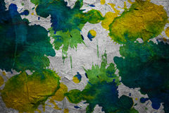 Watercolor blots background. With stains royalty free stock photo