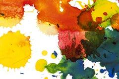 Watercolor blots background vector illustration