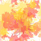 Watercolor blots vector seamless background Stock Images