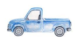 Free Watercolor Blue Car Royalty Free Stock Photo - 142222955