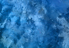 Watercolor blue grunge background. Light blue grunge background paper texture Royalty Free Stock Image