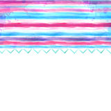 Watercolor blue and pink background Royalty Free Stock Images