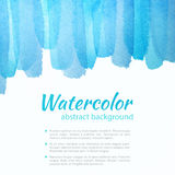 Watercolor Blue and Purple Background Royalty Free Stock Photo
