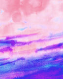 Watercolor blue sky abstract texture Royalty Free Stock Image