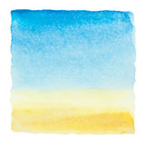 Watercolor blue sky Royalty Free Stock Images