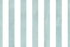 Watercolor blue striped background. Royalty Free Stock Photo