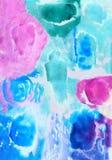 Watercolor bright beautiful Royalty Free Stock Image