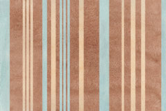 Watercolor brown, beige and blue striped background. Stock Photography