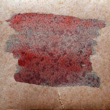 Watercolor brown, red abstract background paint Royalty Free Stock Photos