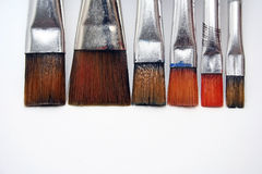 Watercolor brush Royalty Free Stock Photos