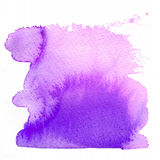 Watercolor brush Stock Photography