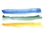 Watercolor brush Royalty Free Stock Photos
