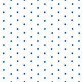 Watercolor brush dot pattern Stock Image