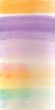 Watercolor brush gradient Stock Photo