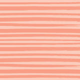 Watercolor Brush Orange Pant Stripes Pattern Background. Vector illustration of watercolor paint brush orange stripes pattern background Royalty Free Stock Images