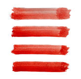 Watercolor brush strokes background design Royalty Free Stock Image