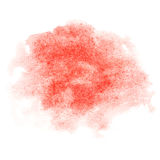 Watercolor brush strokes Royalty Free Stock Photos