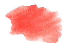 Watercolor brush strokes Stock Photos